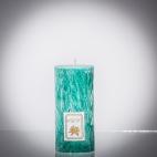 Sviečka zelená smaragd matná, sviečka pre znamenie býk, sviečka pre znamenie baran, sviečka pre znamenie škorpión, sviečka pre znamenie rak
