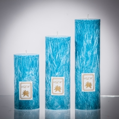 Set sviečok - tyrkysová matná, matna, sviečka pre znamenie býk, sviečka pre znamenie baran, sviečka pre znamenie škorpión, sviečka pre znamenie rak