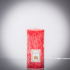 Sviečka červená klasik matná, matna, sviečka pre znamenie býk, sviečka pre znamenie baran, sviečka pre znamenie škorpión, sviečka pre znamenie rak