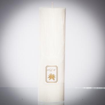 Sviečka biela matná, solumar